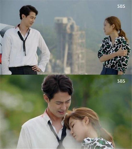 SBS 수목드라마 '괜찮아 사랑이야'의 조인성,공효진 커플 / 방송 영상 캡처