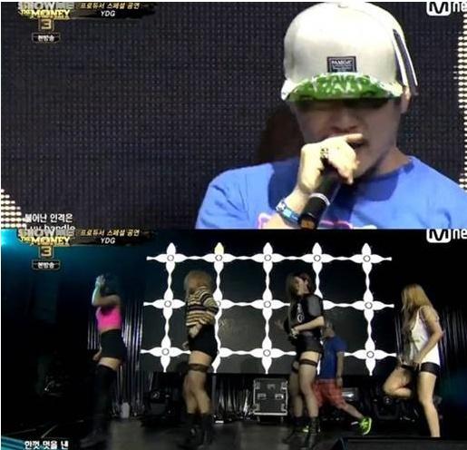 자신의 신곡 '단발머리'를 선보인 양동근(사진:Mnet '쇼미더머니3' 방송 캡처)