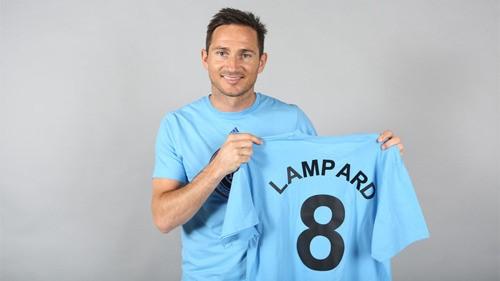 미국 MLS 뉴욕시티FC로 이적한 프랭크 램파드[사진=뉴욕시티FC 홈페이지]