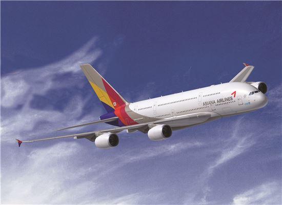 아시아나항공의 A380