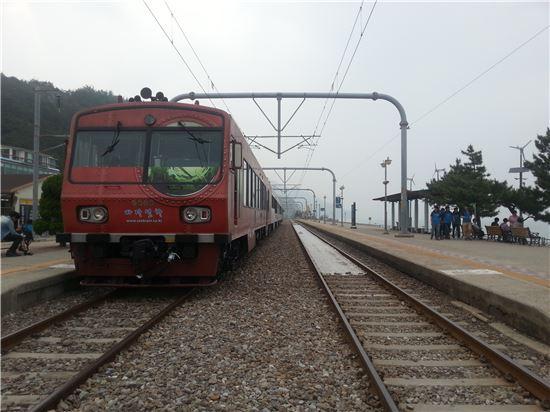 코레일의 바다열차