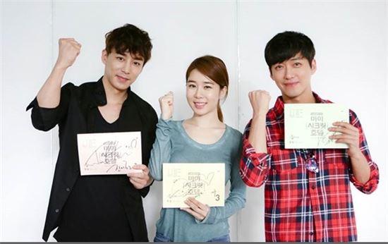 '마이 스크릿 호텔' 집필을 맡았던 김예리 작가가 암투병 끝에 사망했다. 사진은 '마이 시크릿 호텔' 출연 배우들. (사진:tvN 제공)