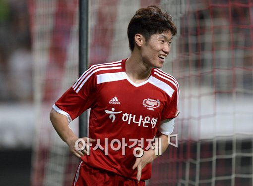 [포토]박지성,'즐거운 올스타전'