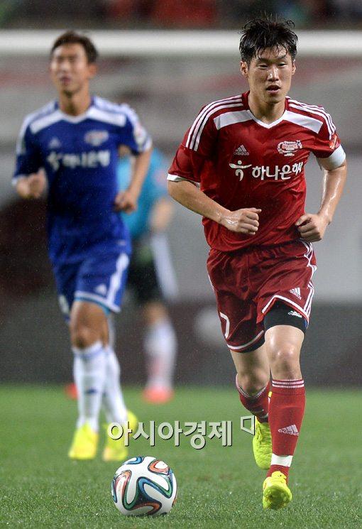 [포토]박지성의 마지막 무대 'K리그 올스타전'
