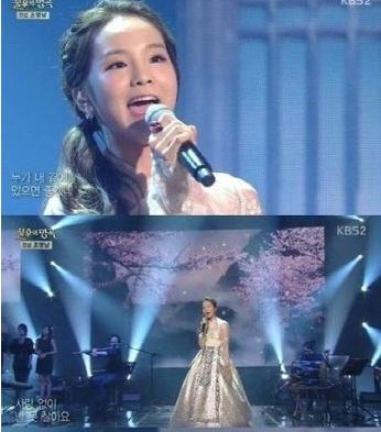 '불후의 명곡'에서 극찬 받은 송소희 (사진: KBS2 '불후의 명곡' 캡처)