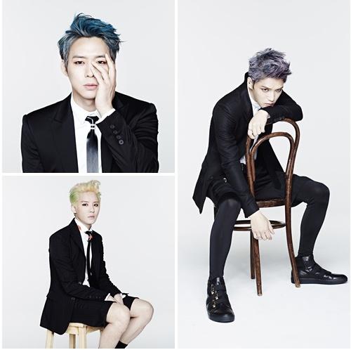 JYJ가 오는 29일 자정 3년만에 정규 2집 '저스트 어스(JUST US)'를 공개한다.