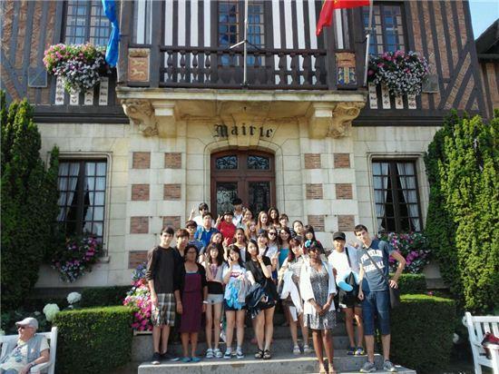구로구 해외교류청소년단 프랑스 방문