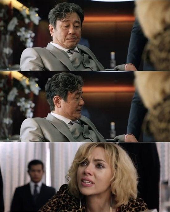 최민식 '루시' (사진:예고영상 캡처)