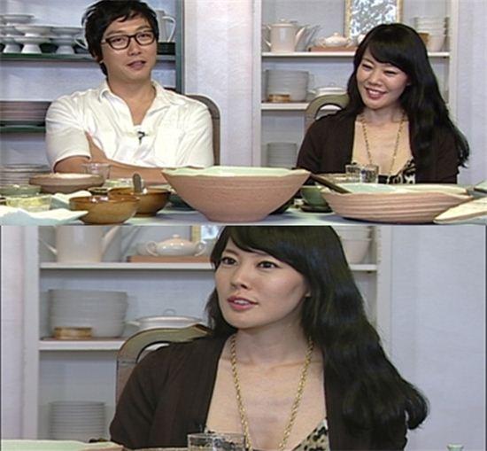 진보식품 회장의 막내딸로 알려진 이효림(사진: SBS 방송화면 캡처)