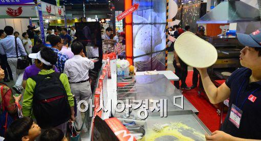 [포토]'프랜차이즈 창업박람회 2014 개최'