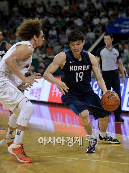 김주성(오른쪽)[사진=김현민 기자]