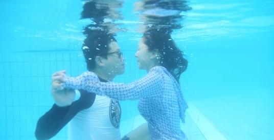박준금 지상렬 수중키스 도전(사진: JTBC '님과함께' 캡처)
