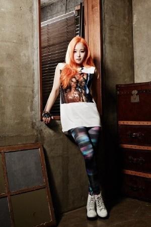 박봄 디스곡을 공개한 에이코어 케미(사진: 두리퍼블릭엔터테인먼트)