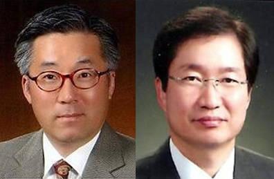 김종덕 문체부 장관 후보자(왼쪽)와 김영석 해수부 차관 후보자