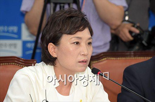 """김현미 """"문재인 청문회 출석 하면 이명박도 나와야"""""""