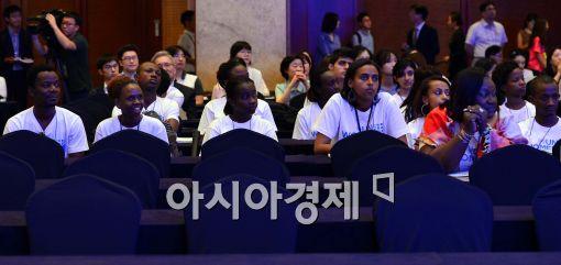 [포토]빈자리 보이는 '제2차 차세대 여성 글로벌 파트너십 세계대회'