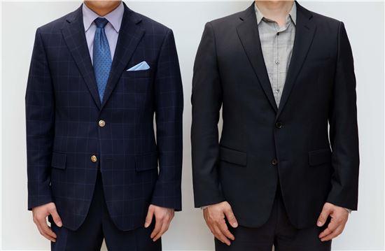 오인환, 경비원과 나, CCTV 비디오 사진 혼합 매체. 2014.