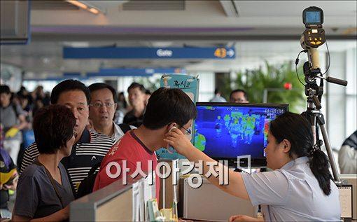 [포토]검역 강화된 인천공항