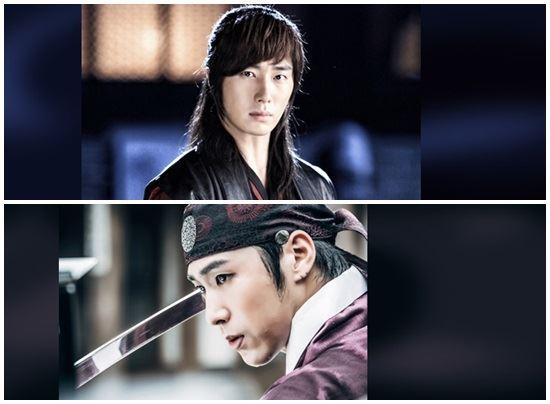 '야경꾼일지' 정일우(위)와 유노윤호(아래) /MBC 홈페이지 발췌