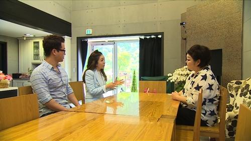 이혜정 집을 방문한 지상렬과 박준금(사진: JTBC 제공)