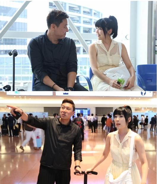 '님과 함께'에 새 가상 재혼부부로 출연하는 이상민과 사유리 (사진:JTBC 제공)