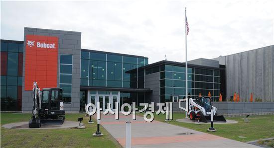 5일 미국 노스다코다주 비즈마크에 준공된 밥캣 Acceleration Center 전경