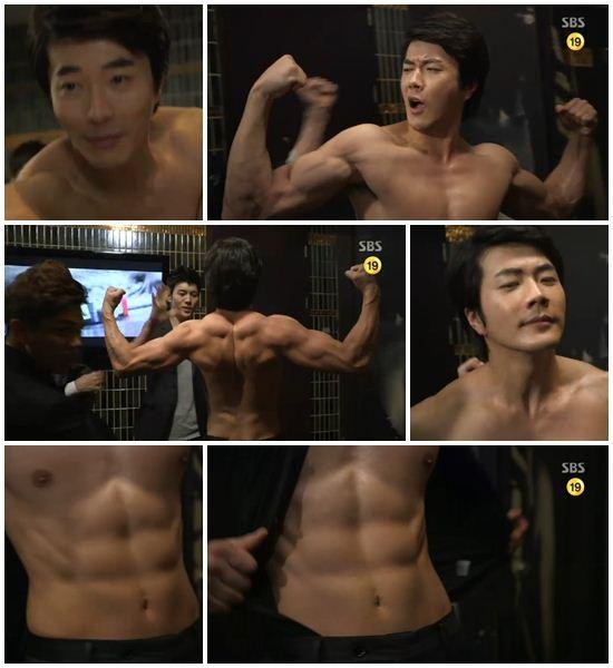 권상우 근육(사진: SBS 방송화면 캡처)