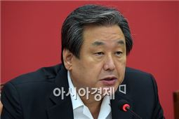 """김무성 """"세월호 특별법과 민생경제 분리해야"""""""
