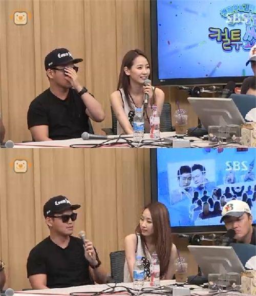 라디오에 출연한 핫펠트 예은(사진: SBS 방송화면 캡처)