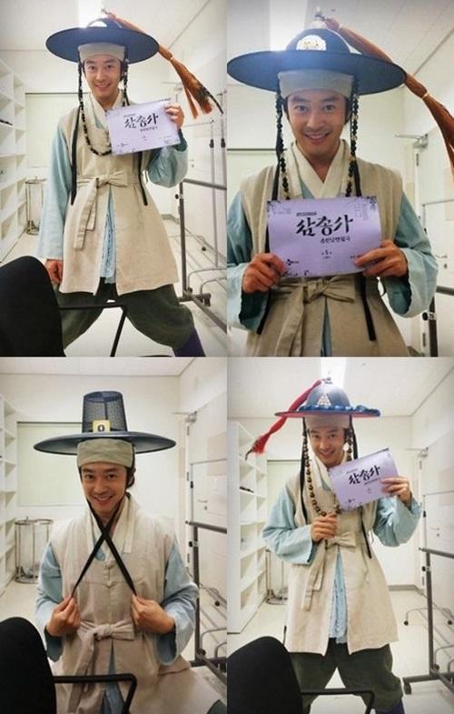 삼총사에 출연하는 배우 이켠(사진: 이켠 트위터)