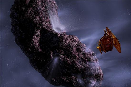 ▲나사는 2019년 소행성에 로봇탐사선을 보낼 예정에 있다.[사진제공=NASA]