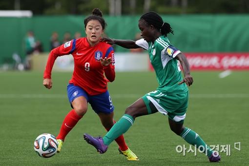 U-20 여자 축구대표팀[사진=대한축구협회 제공]