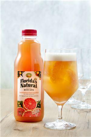 프리미엄 착즙주스 '플로리다 내추럴'이 여름철을 맞아 플로리다 내추럴을 더욱 시원하게 즐길 수 있는 칵테일 레시피를 선보였다.