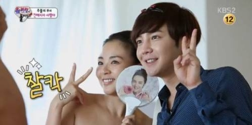 장근석이 추성훈 집에 방문해 야노시호의 마음을 사로잡았다.(사진: KBS2 '슈퍼맨이 돌아왔다' 캡처)