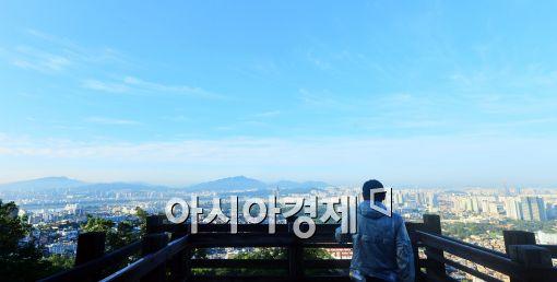[포토]'푸른 하늘'