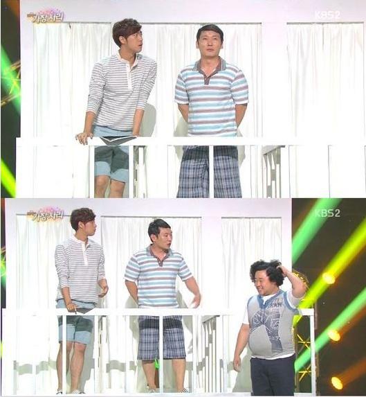 10일 첫 방송을 탄 '개그콘서트-가장자리' 코너가 화제가 되고 있다.(사진: KBS2 '개그콘서트' 캡처)