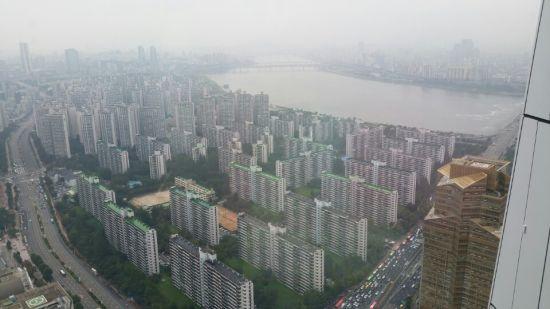 서울 잠실아파트단지모습.<자료사진>