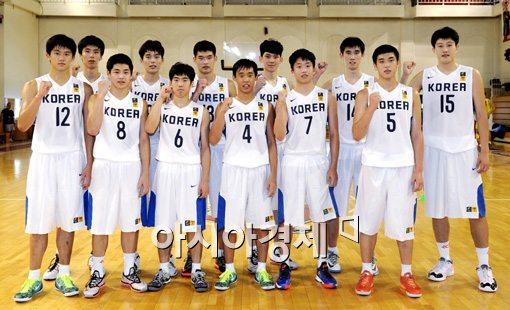 U-18 농구, 요르단 상대 아시아선수권 첫 승