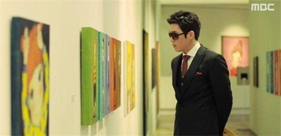 육심원 작품(사진:MBC 방송화면 캡처)