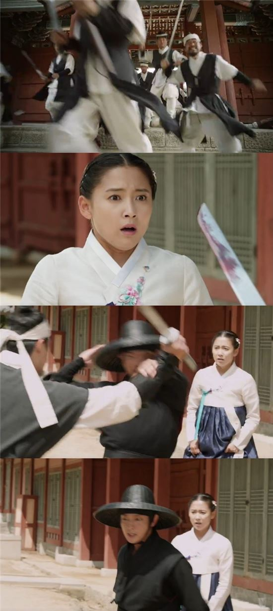KBS2 수목드라마 '조선총잡이'/해당 방송 캡처
