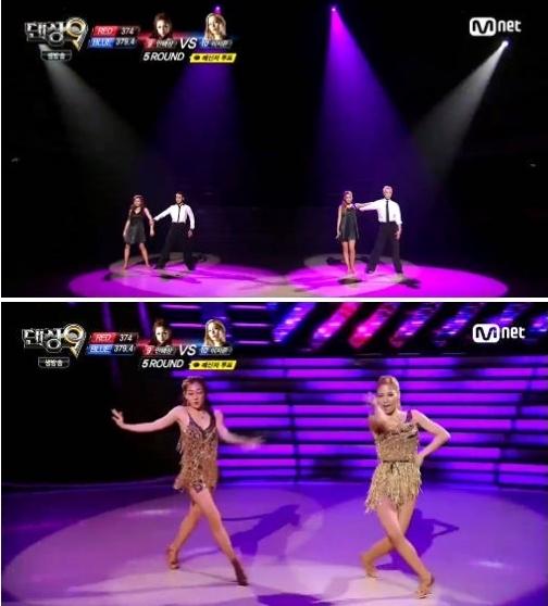 댄싱 9 안혜상(사진:Mnet 댄싱 9 캡처)