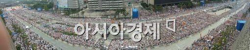 [교황방한]광화문광장 일대 교통통제 모두 풀려