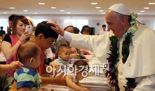 [포토]아이들에게 축복을