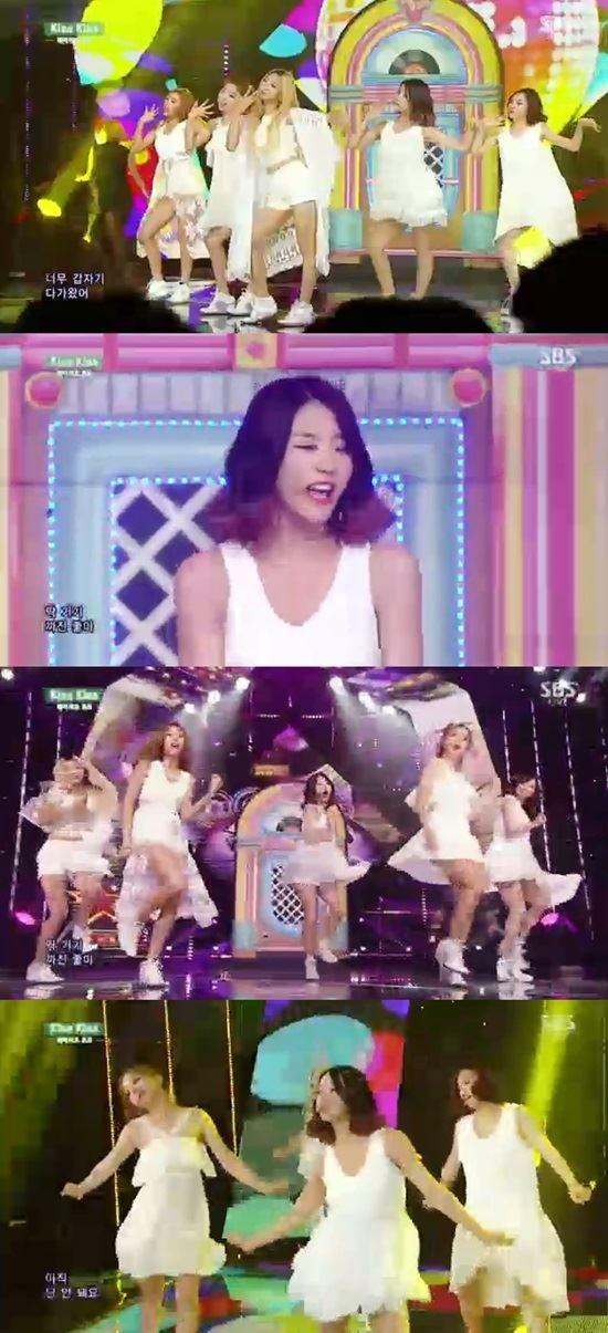 레이디스코드 /SBS '인기가요' 방송 캡처