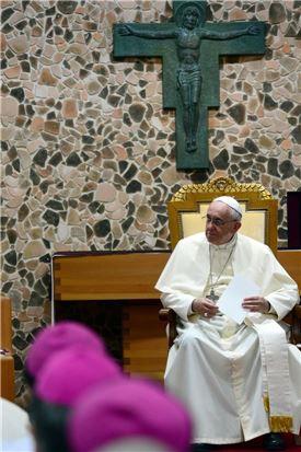 프란치스코 교황.