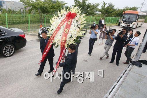 [포토]김정은 국방위원장의 조화