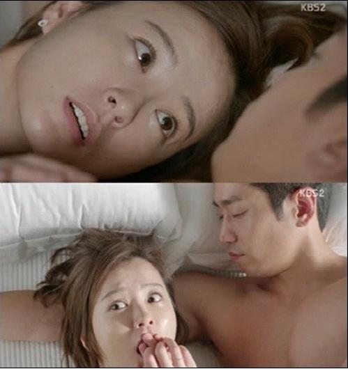 '연애의 발견' 정유미 첫방부터 에릭과 뜨거운 밤(사진출처 = KBS2 '연애의 발견 캡처)