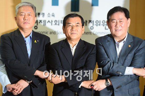 [포토]노사정위 11개월만에 재개