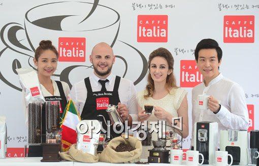 [포토]바리스타 챔피언과 이태리 커피를