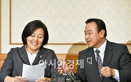 [포토]밝게 웃는 박영선 원내대표